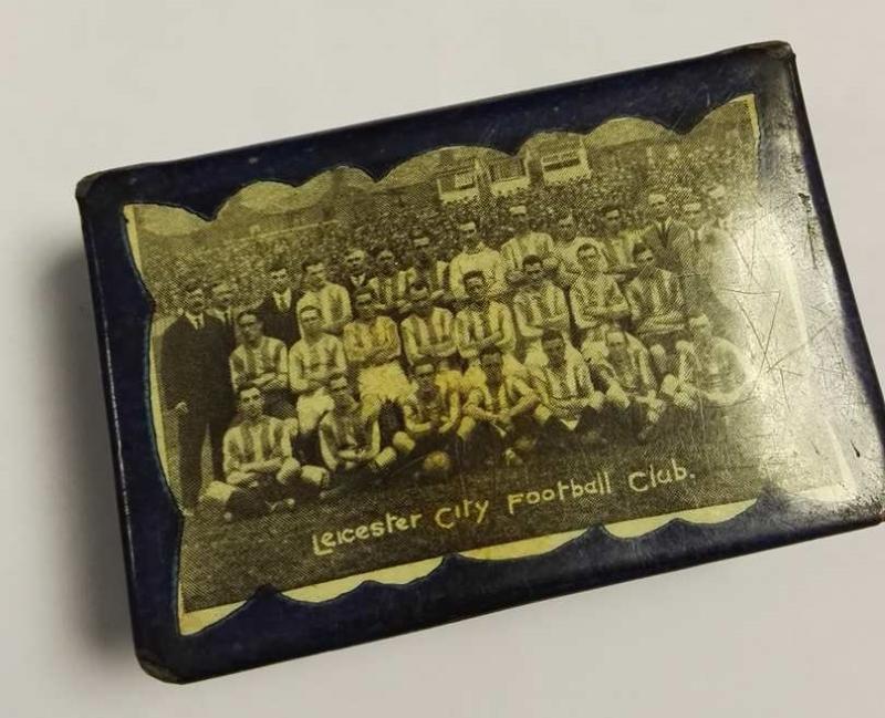 George Harold Douglas Benefit Souvenir Matchbox Cover 1920-21 front