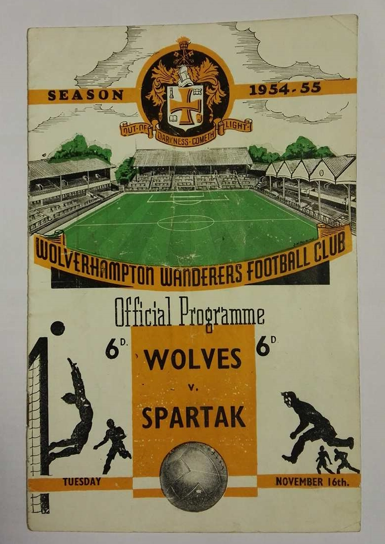 Wolves vs Spartak Moscow 1954