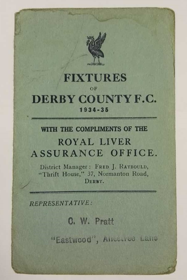 Derby County memorabilia collector