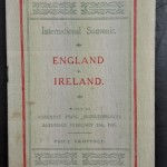 Irish football programme collector