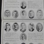 England vs Wales Programme March 1905 - teams