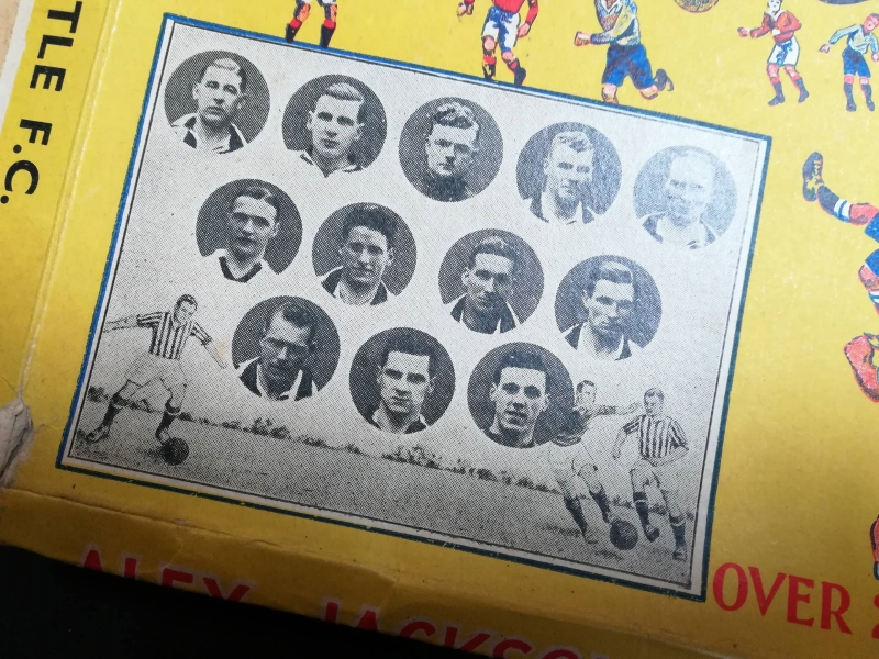 Alex Jackson's Football Jigsaws - Newcastle United FA Cup Team 1936