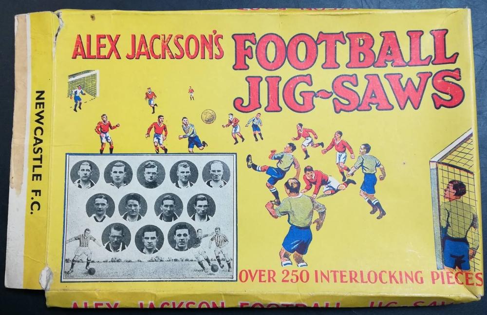 Alex Jackson football jigsaws