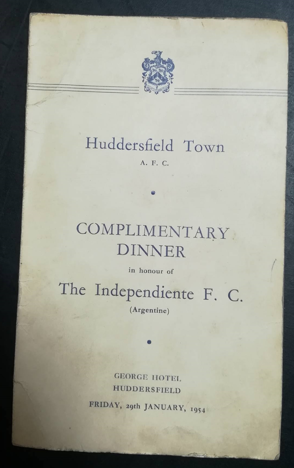 Huddersfield vs Independiente FC 1954