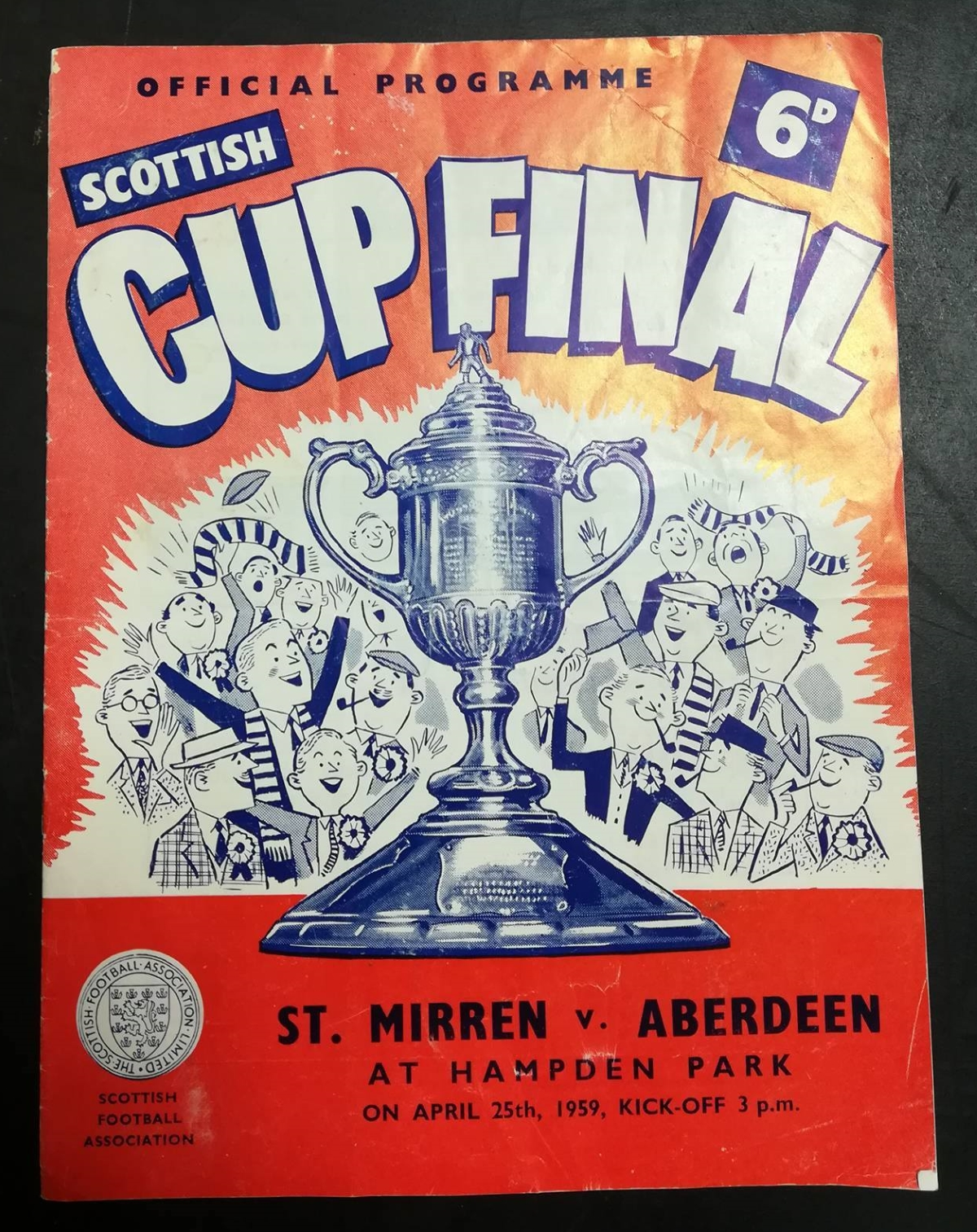 Scottish Cup final 1959 programme