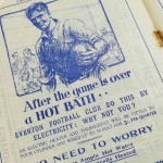 Everton vs Tottenham Programme February 1937 - advert