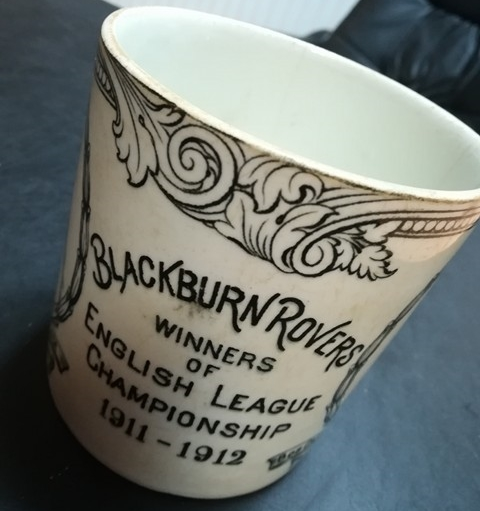 Blackburn Rovers English League Winners 1911/12 Mug