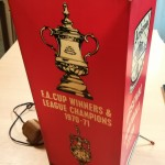 Arsenal Cup Winners memorabilia 1971