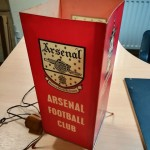 Arsenal FC 1970-71 Cup & League Winners Lamp - badge