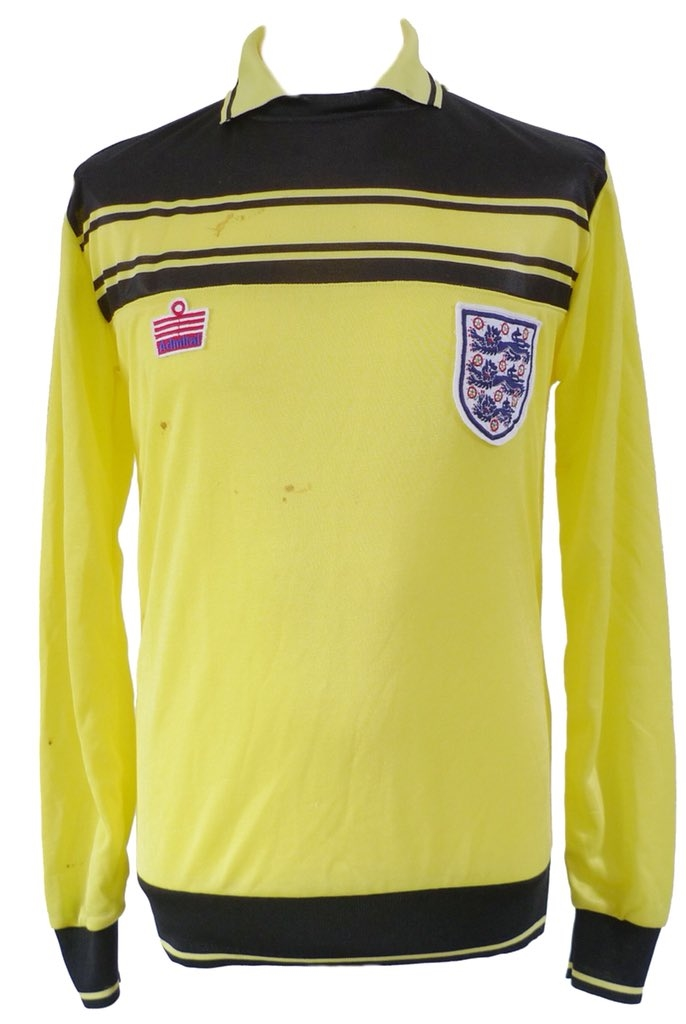 England matchworn shirt collector
