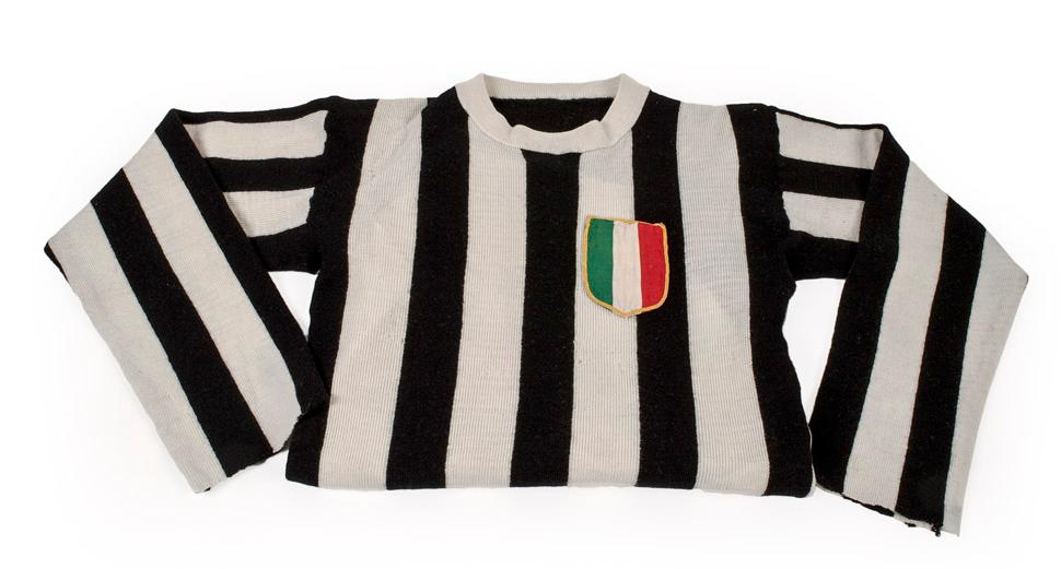 Juventus matchworn shirt collector