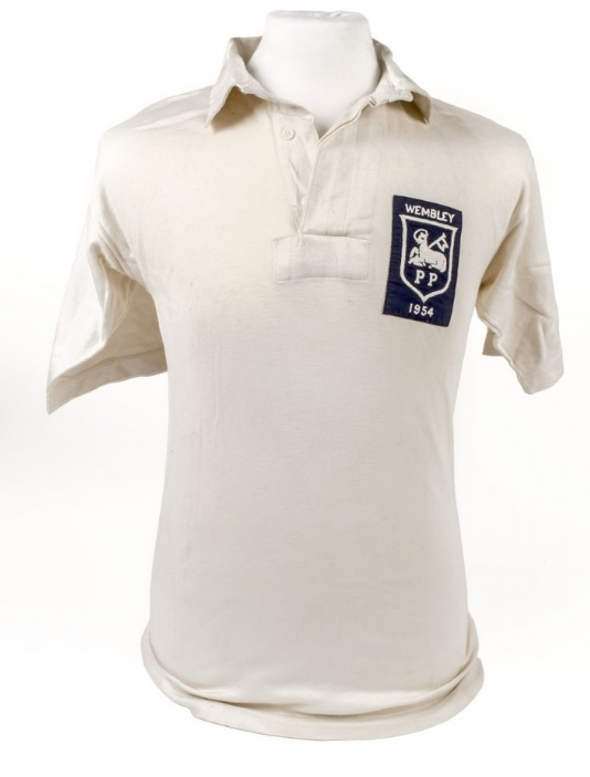 Preston North End matchworn shirt collector
