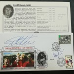 World Cup 1966 - 30th Anniversary Signed First Day Covers - Geoff Hurst