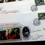 World Cup 1966 - 30th Anniversary Signed First Day Covers - Multi