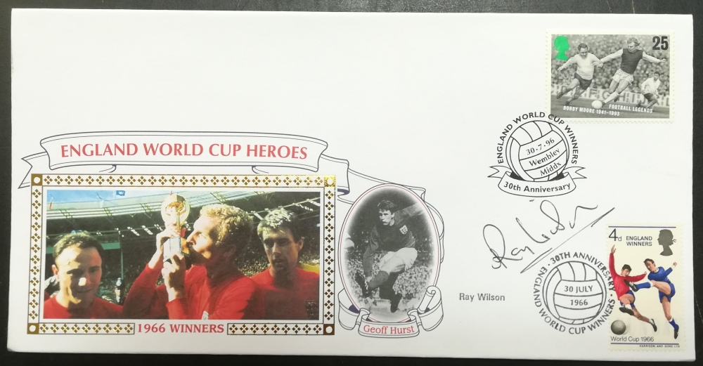 World Cup First Day Cover collector values