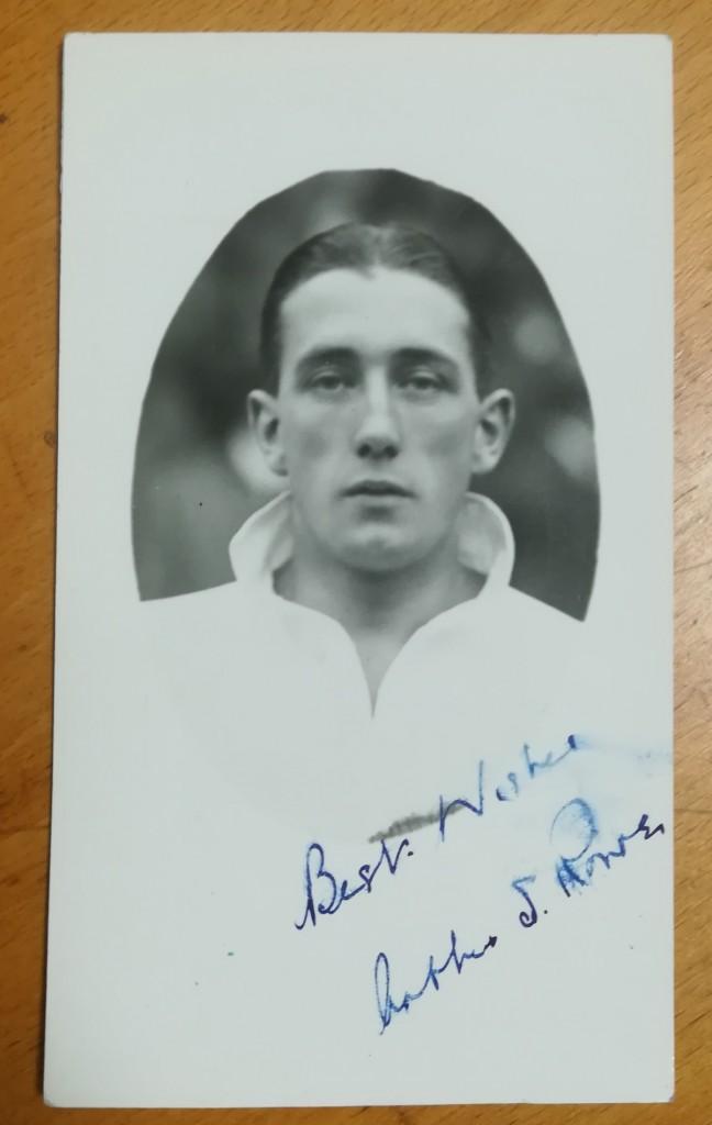 Arthur Rowe Signed Postcard