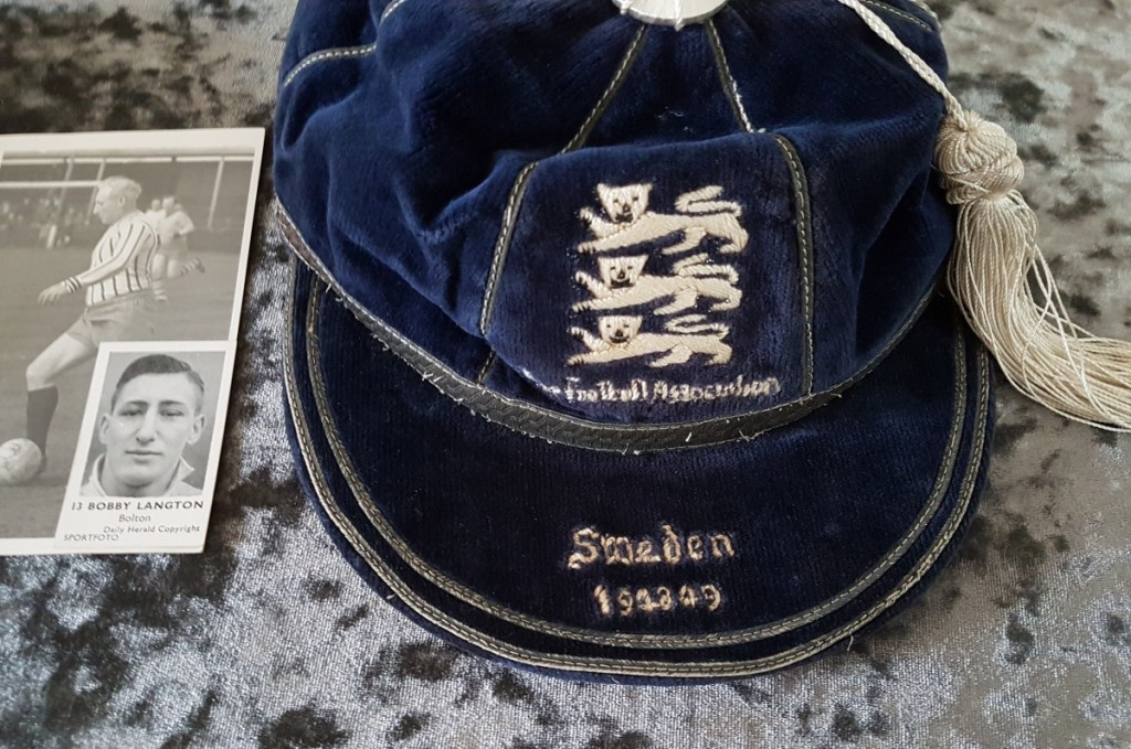 Bobby Langton International Cap