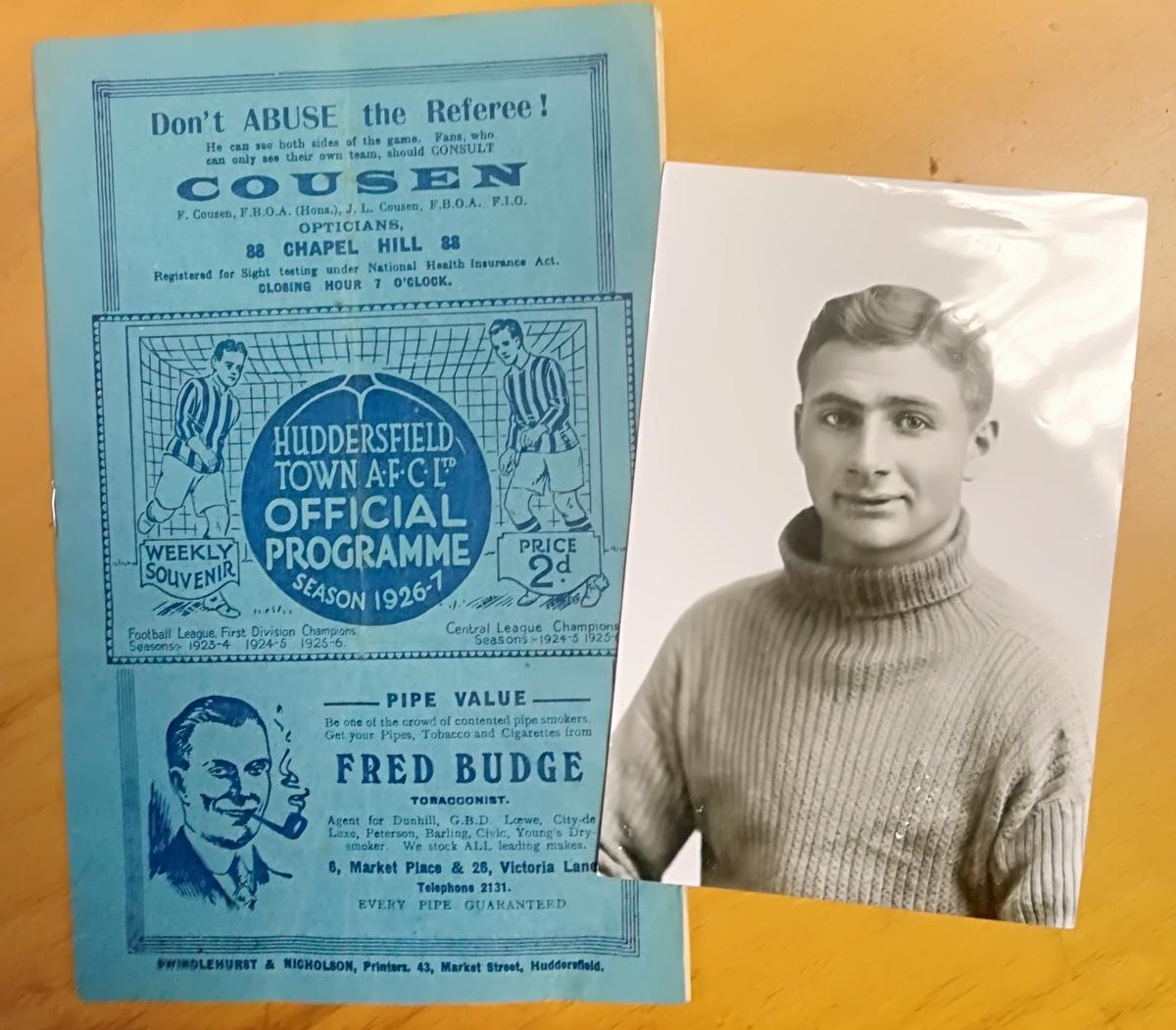 Huddersfield Town memorabilia collector