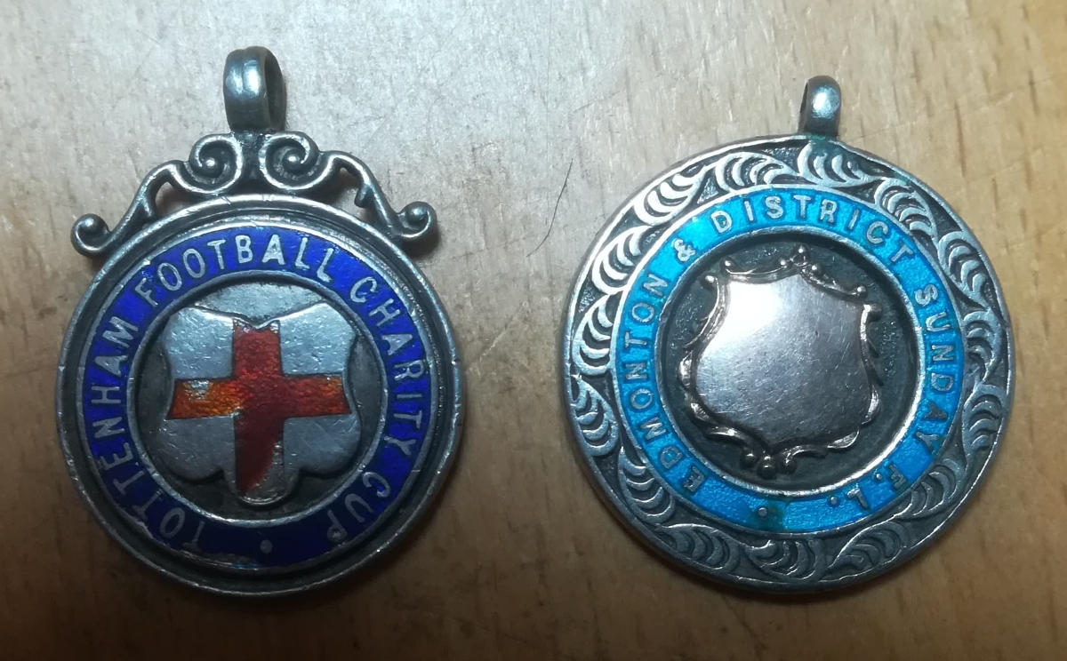 Amateur football medal collector