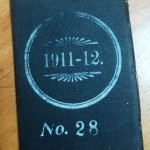 Notts County 1911-12 Season Ticket - Rear