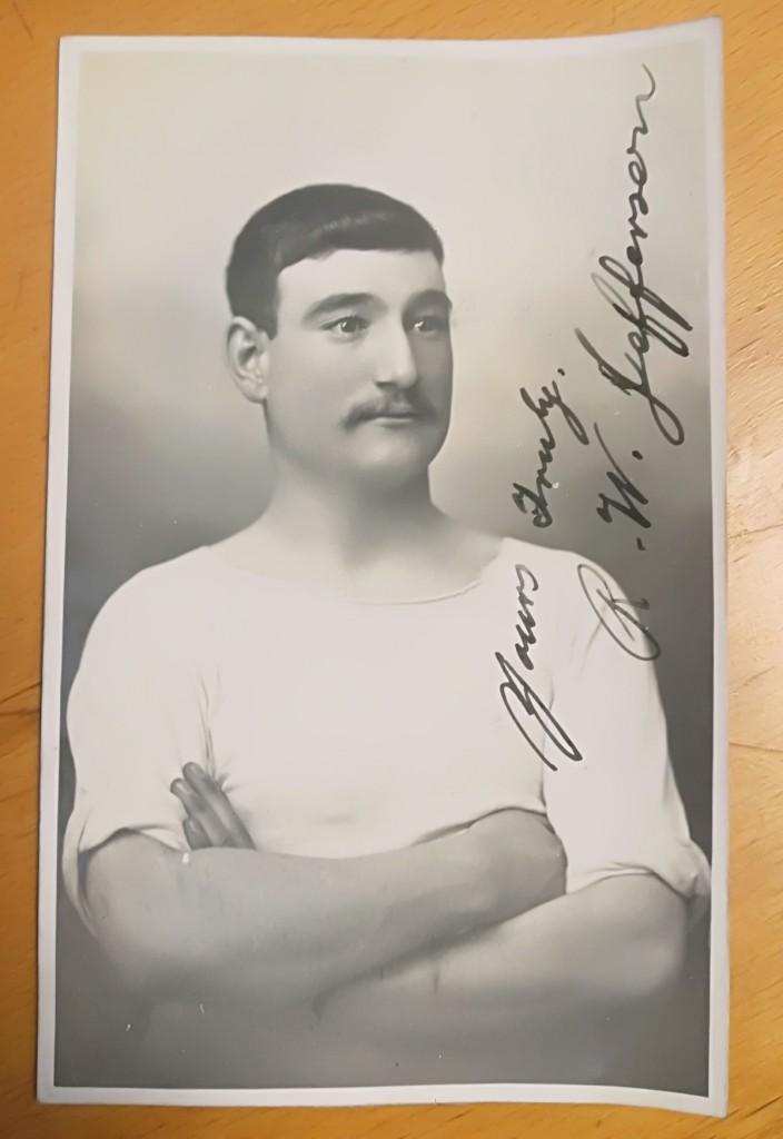 Robert William Jefferson Signed Postcard
