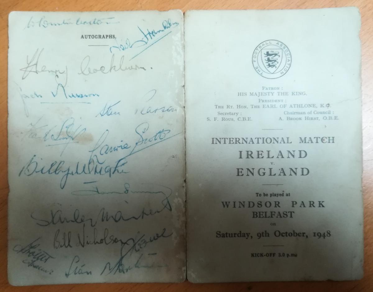 british home championship memorabilia collector
