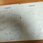 Signed Derby County League Winner Dinner Menu 1969 - Sigs