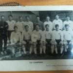 Signed Derby County League Winner Dinner Menu 1969 - Team