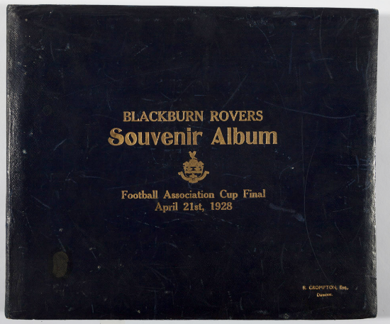 Blackburn Rovers FA Cup Final 1928 Photo Album