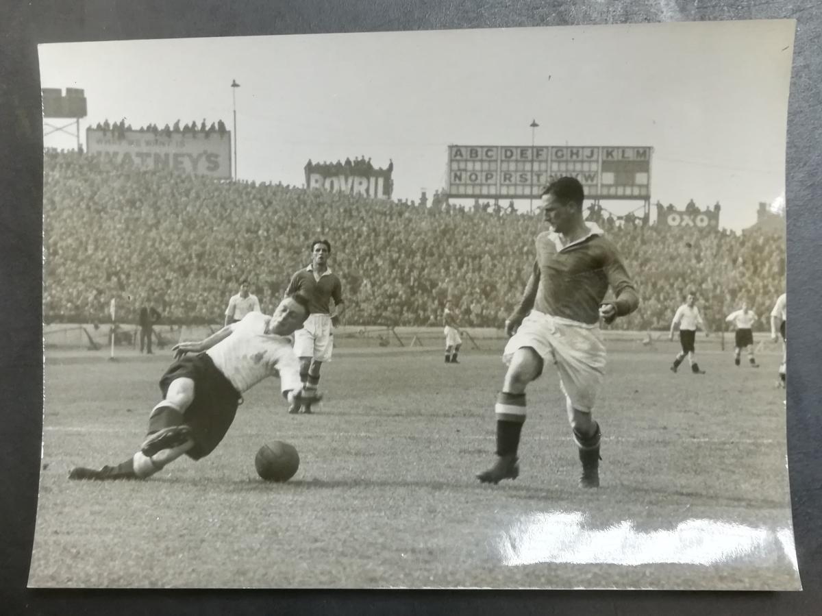 Football press photo collector