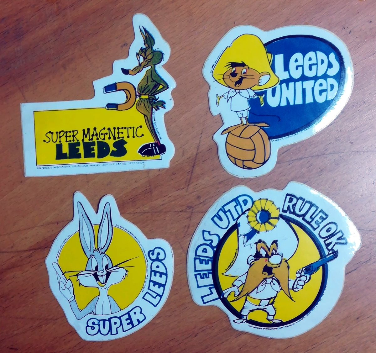 Leeds United memorabilia collector