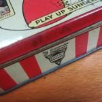 Play Up Sunderland Dainty Dinah Toffee Tin - Long Edge