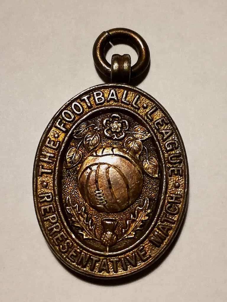 SFA vs Football League Reserve Medal 1953