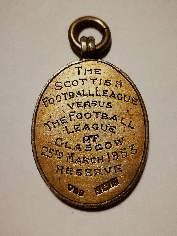Inter league football medal collector