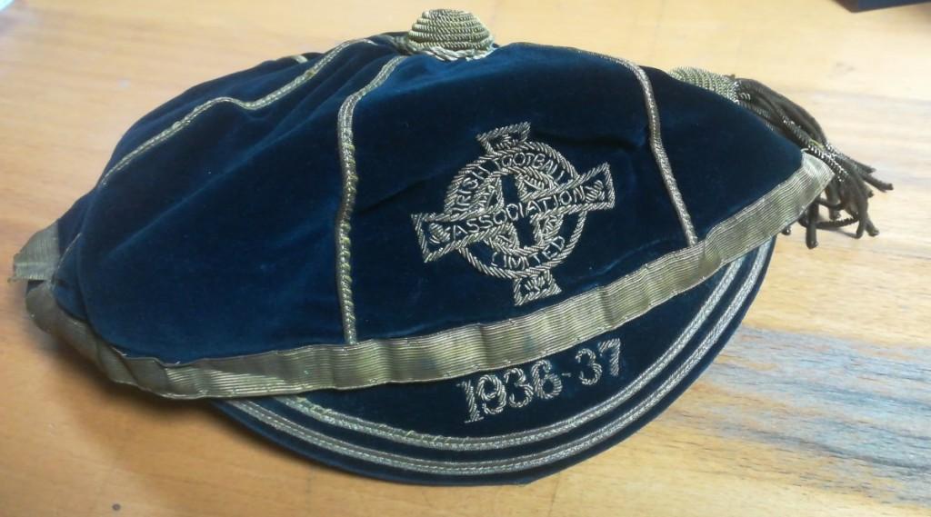 Davy Boy Martin Ireland Cap 1936-37