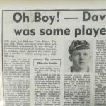 Davy Boy Martin Ireland Cap 1936-37 - Article