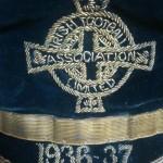 Davy Boy Martin Ireland Cap 1936-37 - Badge