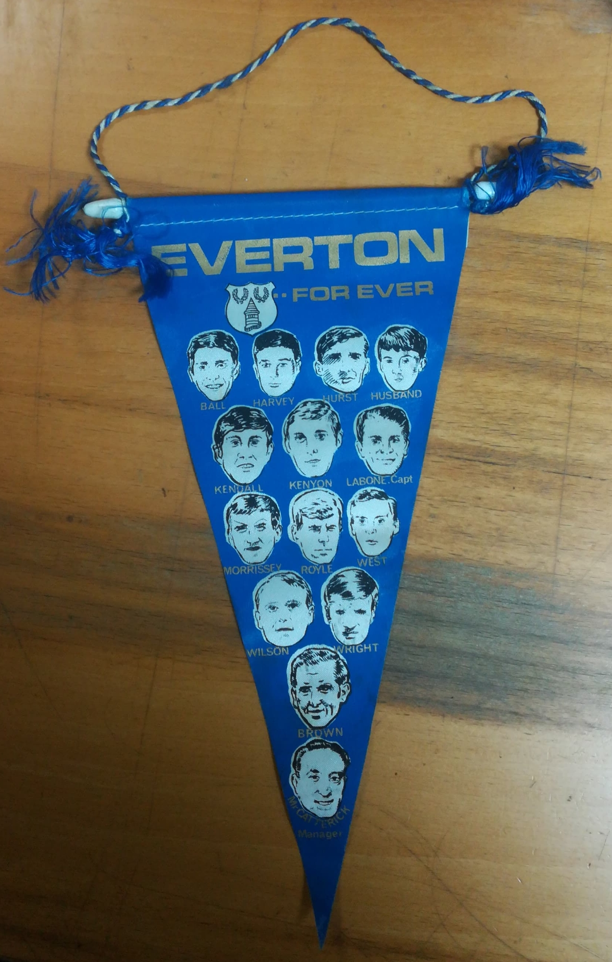 football pennant collector