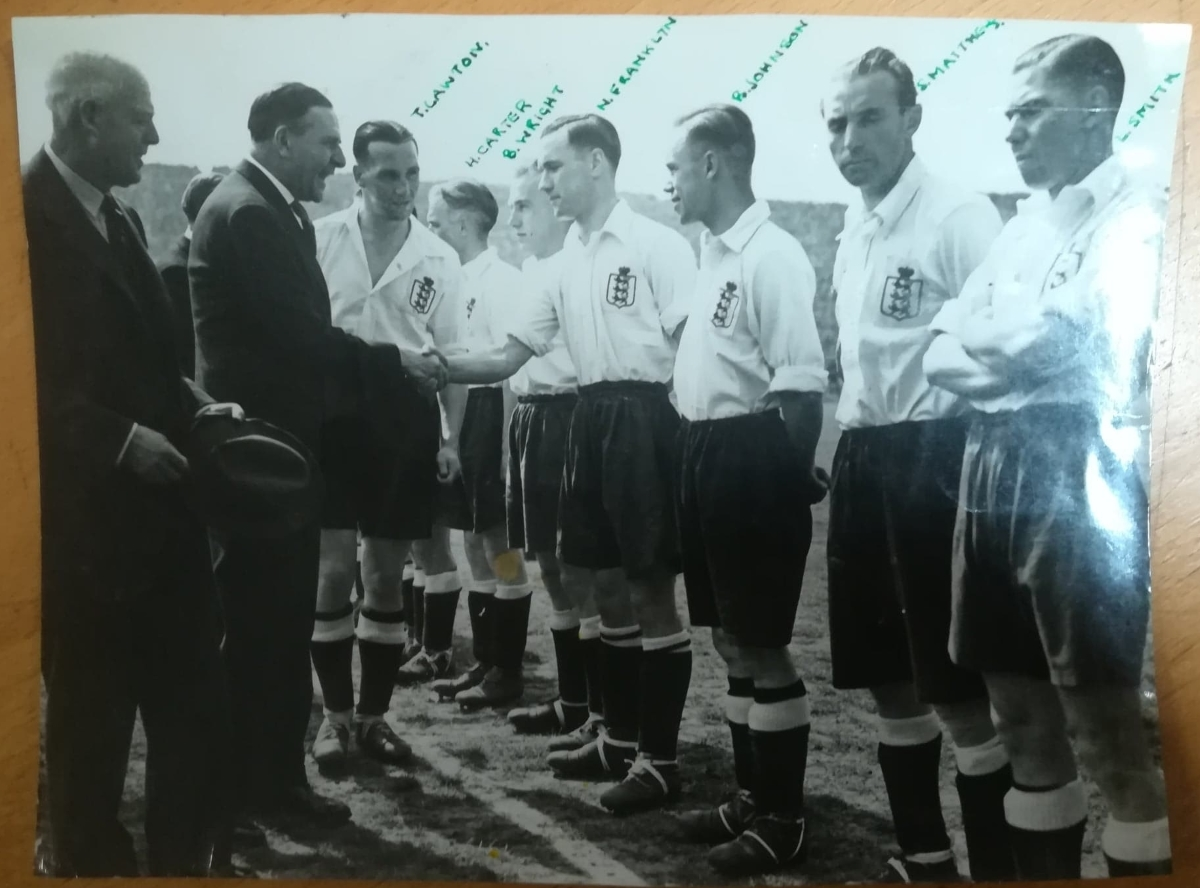 england football press photo values