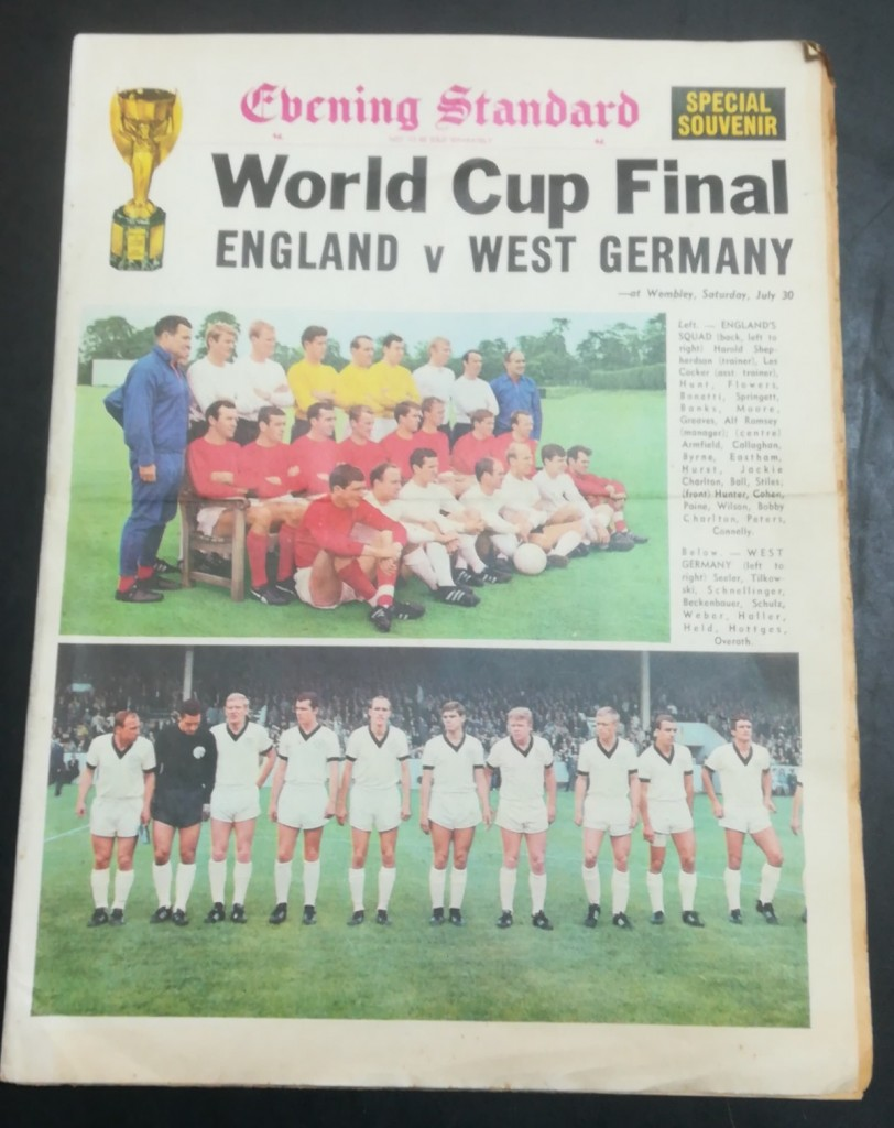 Evening Standard - World Cup Final 1966 Special Edition