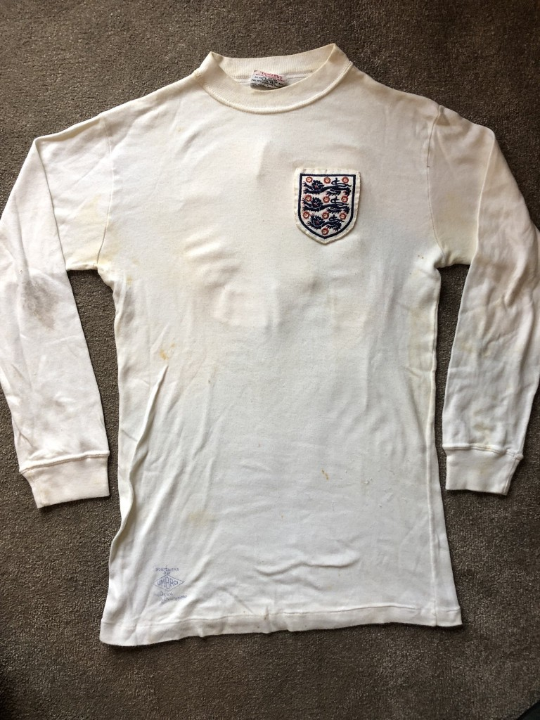 Rodney Marsh England Matchworn Shirt - May 1972