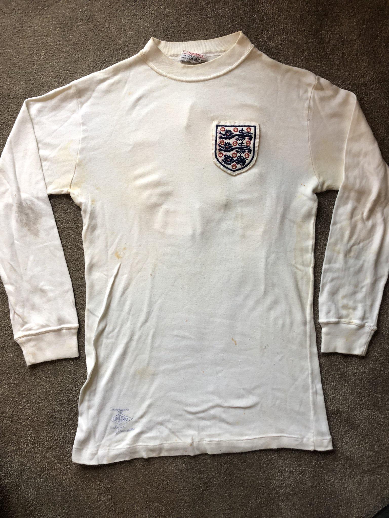 Rodney marsh matchworn shirt