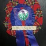 Scotland Rosette