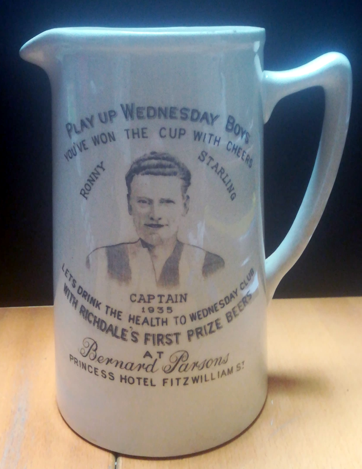 Sheffield Wednesday 1935 FA Cup Winners Tankard