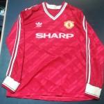 Manchesteer United matchworn shirt collector