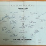 FA Cup Final 1953 Signed Programme - Signatures