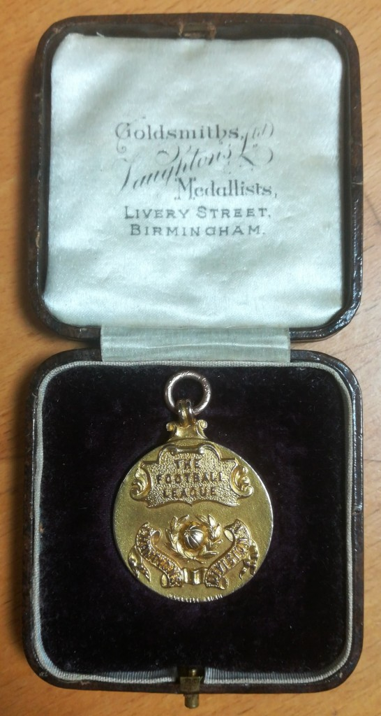 Fred Hopkin - Football League Winner's Medal 1922-23