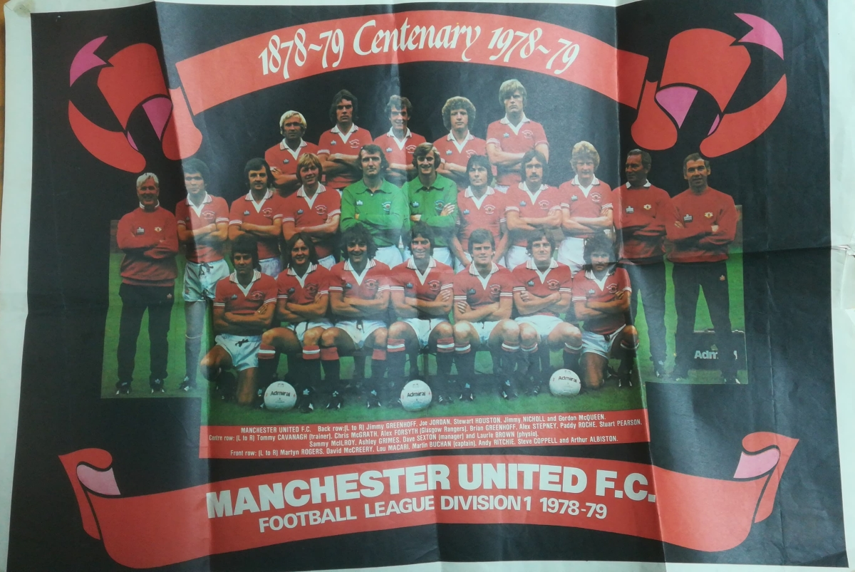Manchester United Centenary Poster