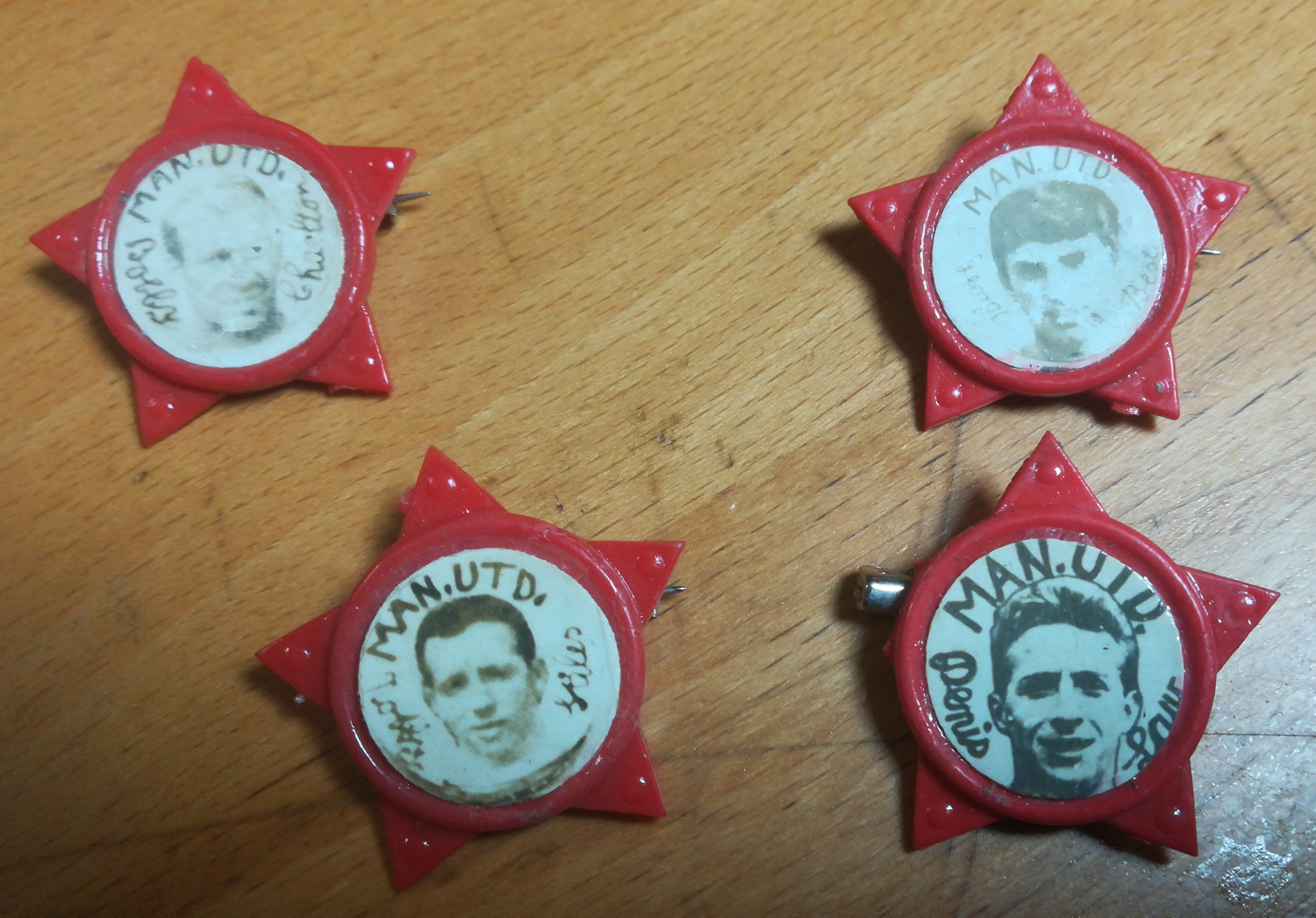 Manchester United star badge values