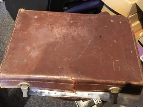 Alfred 'Pat' Beasley's Suitcase